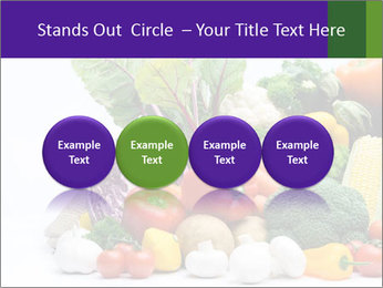 Colorful Vegetables PowerPoint Templates - Slide 76