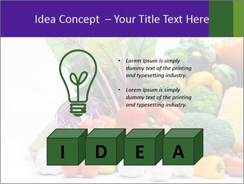 Colorful Vegetables PowerPoint Templates - Slide 80