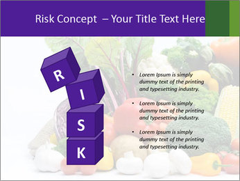 Colorful Vegetables PowerPoint Templates - Slide 81