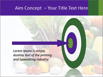 Colorful Vegetables PowerPoint Templates - Slide 83