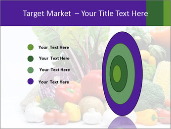 Colorful Vegetables PowerPoint Templates - Slide 84