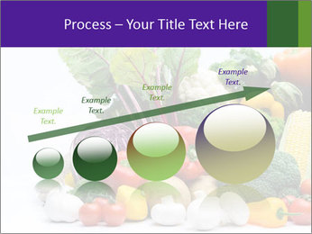 Colorful Vegetables PowerPoint Templates - Slide 87