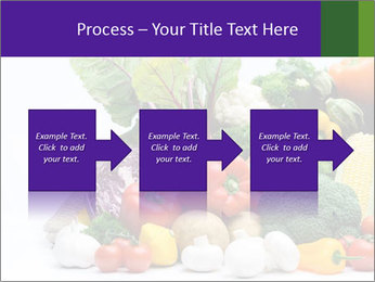 Colorful Vegetables PowerPoint Templates - Slide 88