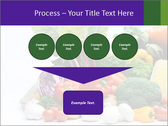 Colorful Vegetables PowerPoint Templates - Slide 93