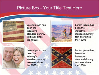American And Japanese Flags PowerPoint Templates - Slide 14
