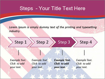 American And Japanese Flags PowerPoint Templates - Slide 4
