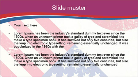 American And Japanese Flags PowerPoint Template - Slide 2