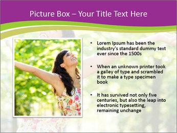 Free Woman PowerPoint Template - Slide 13