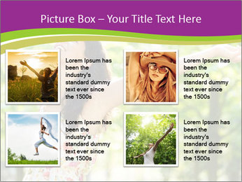 Free Woman PowerPoint Template - Slide 14