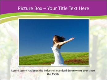 Free Woman PowerPoint Template - Slide 15
