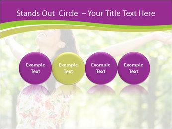 Free Woman PowerPoint Template - Slide 76