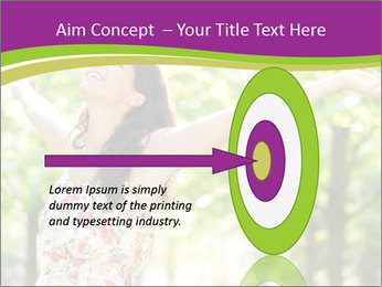 Free Woman PowerPoint Templates - Slide 83