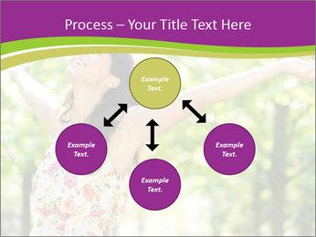 Free Woman PowerPoint Template - Slide 91