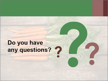 Organic Carrots PowerPoint Templates - Slide 96