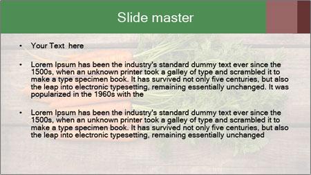 Organic Carrots PowerPoint Template - Slide 2