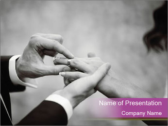 Wedding Celebration PowerPoint Template