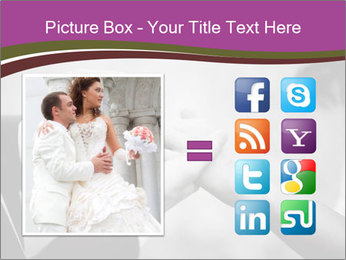 Wedding Celebration PowerPoint Templates - Slide 21