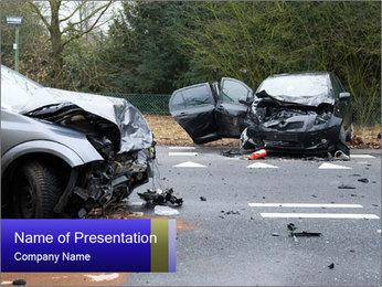 Bad Car Crash Modèles des présentations  PowerPoint