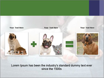 Black And White French Bulldog PowerPoint Templates - Slide 22