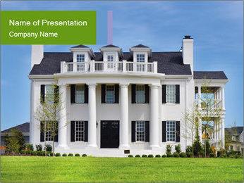 Huge White House PowerPoint Template