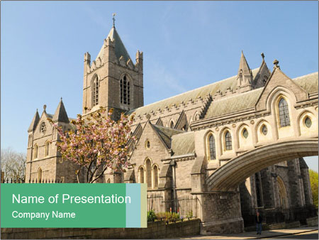 Historical Tower PowerPoint Template