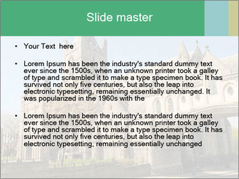 Historical Tower PowerPoint Template - Slide 2