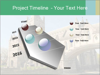 Historical Tower PowerPoint Template - Slide 26