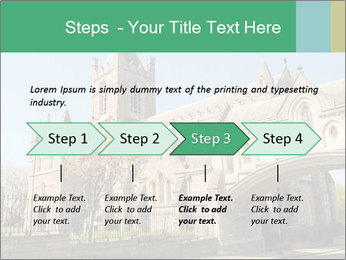 Historical Tower PowerPoint Template - Slide 4