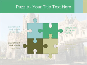 Historical Tower PowerPoint Template - Slide 43