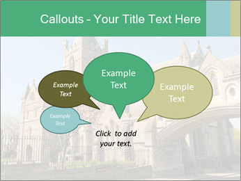 Historical Tower PowerPoint Template - Slide 73