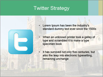 Historical Tower PowerPoint Template - Slide 9