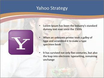 Woman Feeds Her Husband PowerPoint Templates - Slide 11