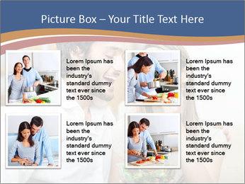 Woman Feeds Her Husband PowerPoint Templates - Slide 14