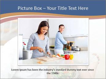 Woman Feeds Her Husband PowerPoint Templates - Slide 15
