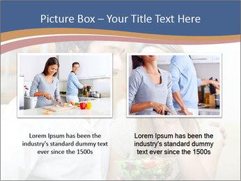 Woman Feeds Her Husband PowerPoint Templates - Slide 18