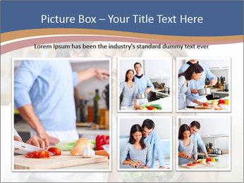 Woman Feeds Her Husband PowerPoint Templates - Slide 19