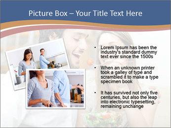 Woman Feeds Her Husband PowerPoint Templates - Slide 20