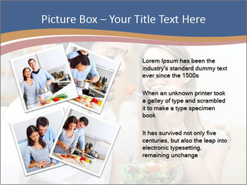 Woman Feeds Her Husband PowerPoint Templates - Slide 23