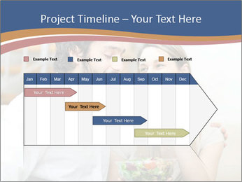 Woman Feeds Her Husband PowerPoint Templates - Slide 25