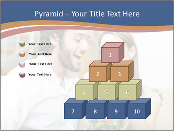 Woman Feeds Her Husband PowerPoint Templates - Slide 31