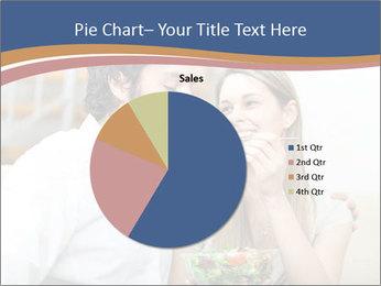 Woman Feeds Her Husband PowerPoint Templates - Slide 36