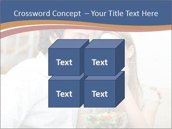 Woman Feeds Her Husband PowerPoint Templates - Slide 39