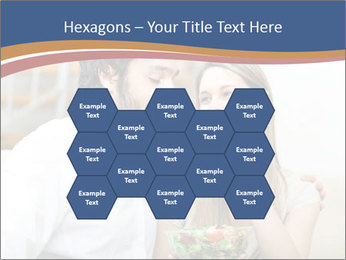 Woman Feeds Her Husband PowerPoint Templates - Slide 44