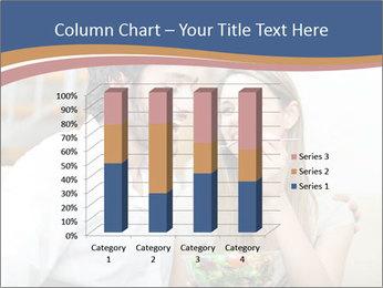 Woman Feeds Her Husband PowerPoint Templates - Slide 50