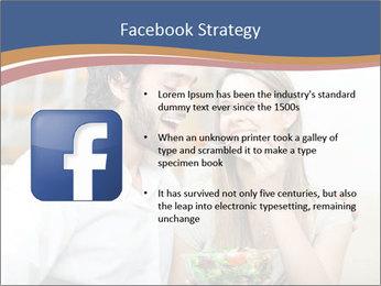 Woman Feeds Her Husband PowerPoint Templates - Slide 6