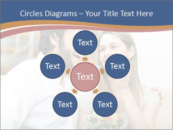 Woman Feeds Her Husband PowerPoint Templates - Slide 78