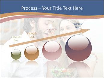 Woman Feeds Her Husband PowerPoint Templates - Slide 87