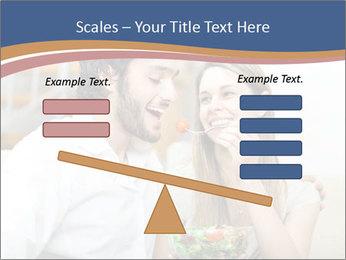 Woman Feeds Her Husband PowerPoint Templates - Slide 89