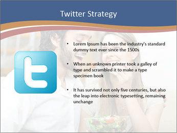 Woman Feeds Her Husband PowerPoint Templates - Slide 9