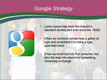Woman Florist PowerPoint Template - Slide 10